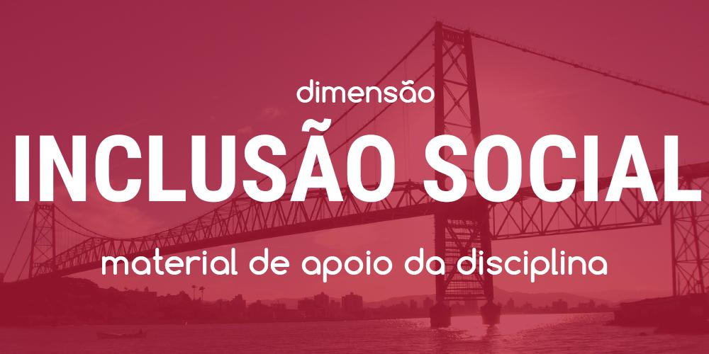 Dimensão Inclusão Social - Workshop CHIS 2017 - Ponte Hercílio Luz