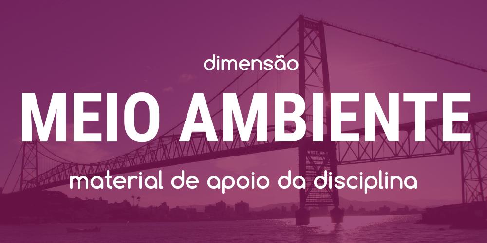 Dimensão Meio Ambiente - Workshop CHIS 2017 - Ponte Hercílio Luz