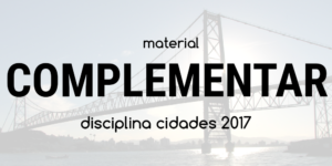 Material complementar - Workshop CHIS 2017 - Ponte Hercílio Luz