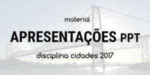 Apresentações slides - Workshop CHIS 2017 - Ponte Hercílio Luz